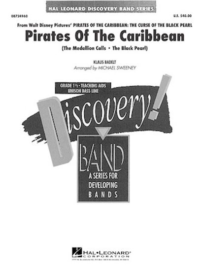 Picture of Pirates of the Caribbean (arr. Michael Sweeney) - Eb Baritone Saxophone